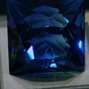 Bluetiful Fluorite Art Print