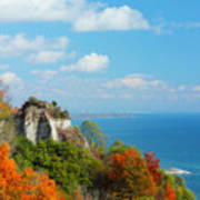 Bluffs Splendour - Scarborough Bluffs Art Print
