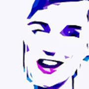Blur Girl 13 Art Print