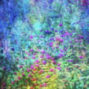 Blurred Garden 4798 Idp_2 Art Print
