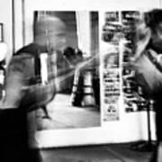 Blurred Training Art Print