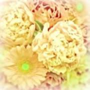 Blush Floral Bouquet Art Print