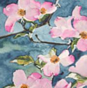 Blushing Prettily Art Print
