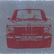 Bmw 2002 Print by Naxart Studio