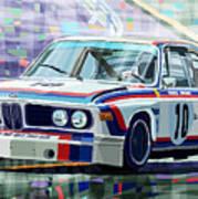 Bmw 3 0 Csl 1st Spa 24hrs 1973 Quester Hezemans Art Print