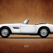 Bmw 507 1957 Art Print