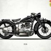 The R16 Motorcycle Art Print