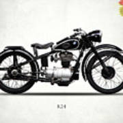The R24 Motorcycle Art Print