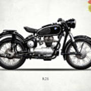 The R26 Motorcycle Art Print