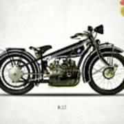 The R32 Motorcycle Art Print