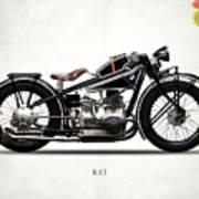 The R47 Motorcycle Art Print