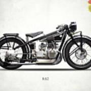 The R62 Motorcycle Art Print