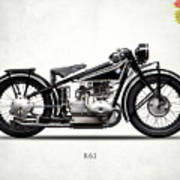 The R63 Motorcycle Art Print