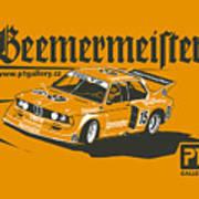 Bmw320 Gr5 Racing Art Print
