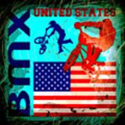 Bmx United States Art Print