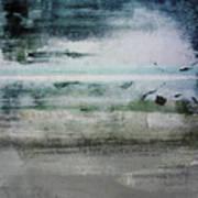 Boardwalk Blues 2- Art By Linda Woods Art Print