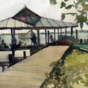 Boardwalk Sarasota Art Print