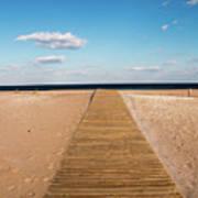 Boardwalk To The Ocean Art Print