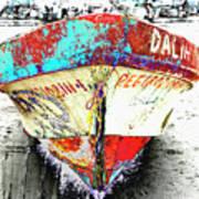 Boat Dalia, Puerta Vallarta, Mexico Art Print