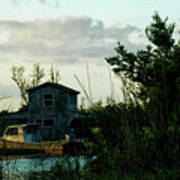 Boat House Art Print
