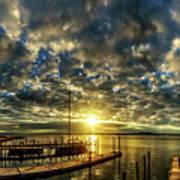 Boat Launch Sunrise Art Print