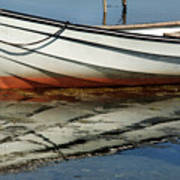 Boat Reflected Art Print