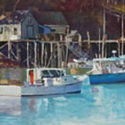Boat Shack Art Print