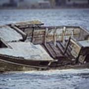Boat Wreck Art Print