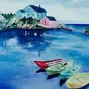 Boaters Paradise Art Print