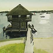 Boathose, Edgartown, Martha's Vineyard Art Print