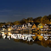 Boathouse Row Art Print