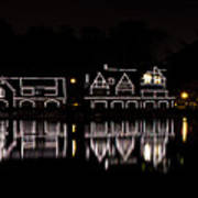 Boathouse Row Panorama - Philadelphia Print by Brendan Reals