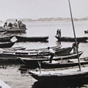 Boatmen Art Print