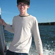 Boatride Art Print