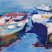 Boats 2 Art Print
