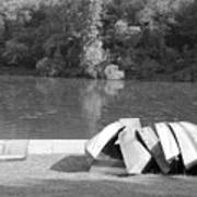 Boats At Northpark I Art Print