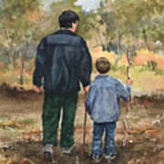 Bob And Alex Art Print