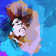Bob Marley 3 Print by Naxart Studio
