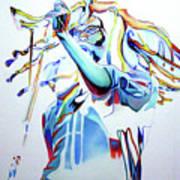 Bob Marley Colorful Art Print