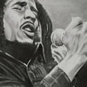 Bob Marley Art Print by Don Medina