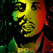 Bob Marley Print Art Print