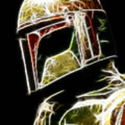 Boba Fett Print by Paul Ward