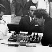 Bobby Fischer (1943-2008) Art Print