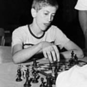Bobby Fischer, Circa 1957 Art Print