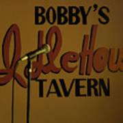 Bobby's Idle Hour Art Print