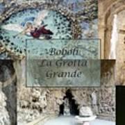 Boboli La Grotta Grande 2 Print by Ellen Henneke