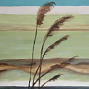 Bob's Beach Art Print