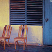 Boca De Yumuri Porch Art Print
