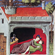 Boccaccio: Lovers, C1430 Art Print