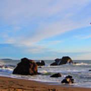 Bodega Bay Sunset Art Print